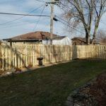 Shadow box fencing