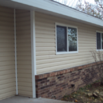 Siding and Soffit replacement, Charlotte Iowa